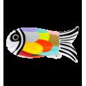 Porta accendino - Fish Case Dahlia