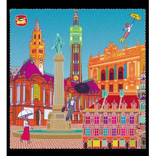 Tissu microfibre pour lunettes - Belle Vue City - Lille