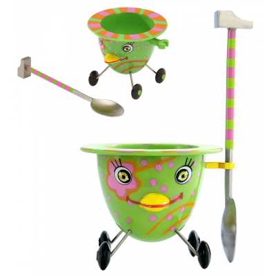 Eggcup - Cocotte - Green
