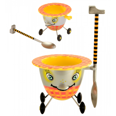 Eggcup - Cocotte - Yellow