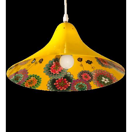 Lampe suspension - Globe Trotter C2 Estampe