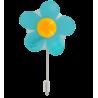 Hanger Spring - Crochet ventouse Blau