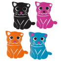 Cateraser - Set of 4 erasers