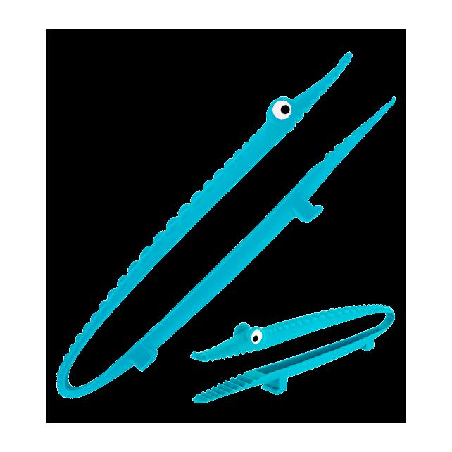 Pince de cuisine - Croc'odile Bleu