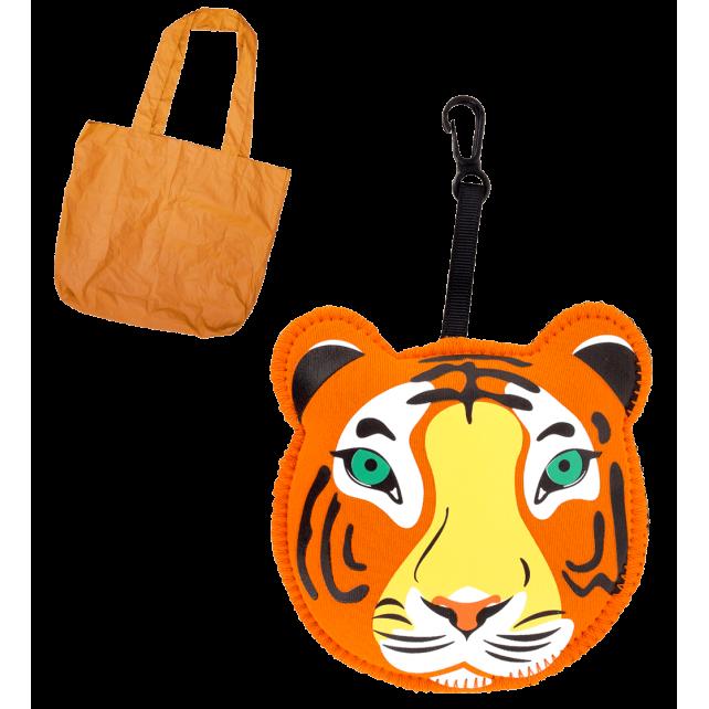 Cat My Shopping - Sac de course Tiger