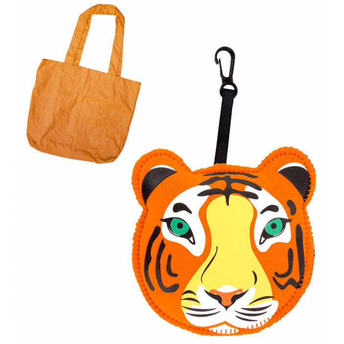 Cat My Shopping - Sac de course Tiger