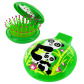 2 in 1 hairbrush and mirror - Lady Retro Cactus