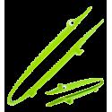 Croc'odile - Pince de cuisine Verde Chiaro