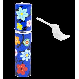Porta profumo da viaggio - Flairy - Blue Flower