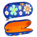 Hard glasses case - Voyage Coquelicots
