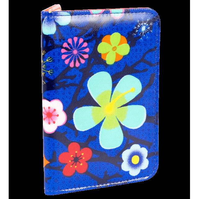 CH. Voyage - Porte cartes Blue Flower