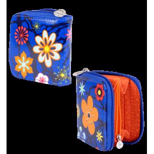 Kleine Brieftasche - Voyage - Blue Flower