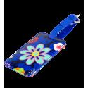 Etiquette de bagage - Voyage Orchid Blue
