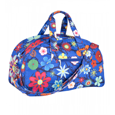 Week-end bag - Week End - Blue Flower