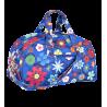 Week End - Week-end bag Blue Flower