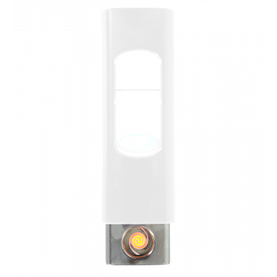 Briquet USB - Light - Blanc
