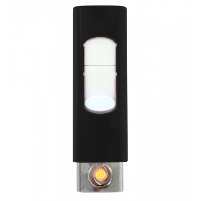 Briquet USB - Light - Noir