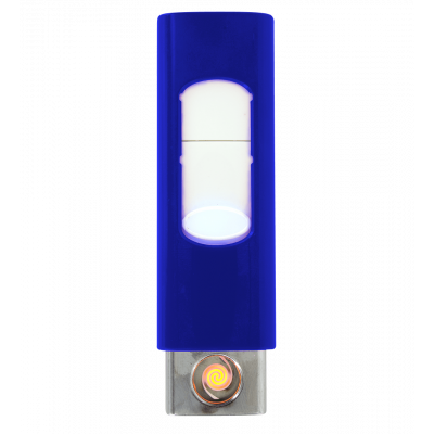 Briquet USB - Light - Bleu