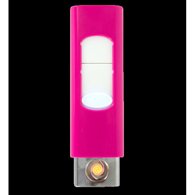 Light - Feuerzeug USB Rosa
