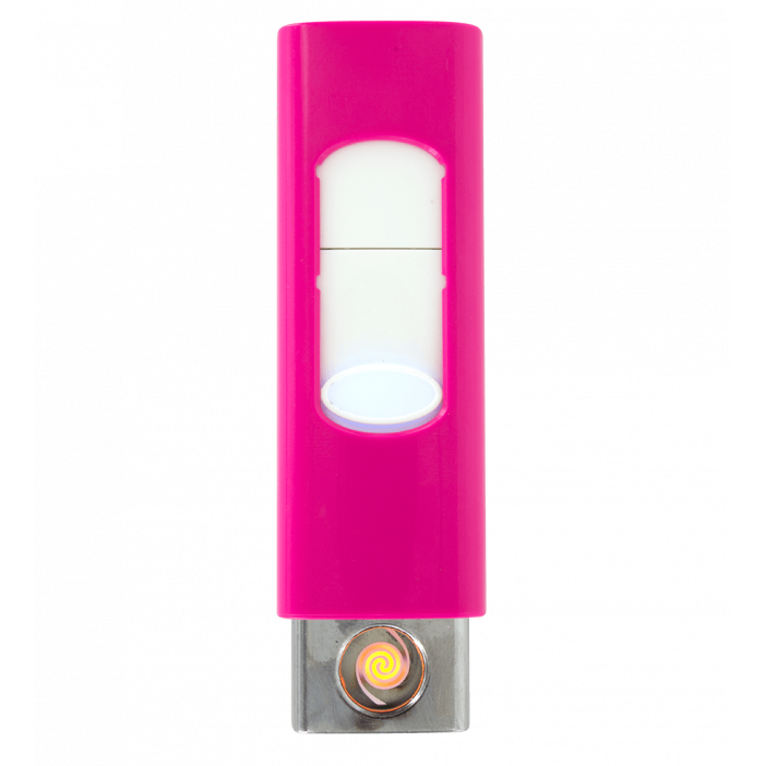 Light - Accendino USB Rosa
