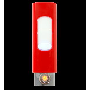 Feuerzeug USB - Light - Rot