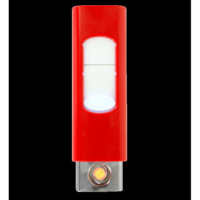 Light - Feuerzeug USB Rot