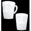 Mug en porcelaine - Emotion Blagueur