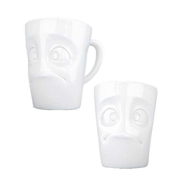 Mug en porcelaine - Emotion Perplexe