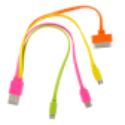 Multifunktions-USB-Kabel 4 in 1 - USB Multi 2 Blau