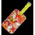 Luggage label - Voyage Licorne Rose