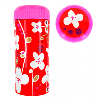 Thermal cup - Cup'in - White Flower