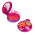 Brosse à cheveux miroir 2 en 1 - Lady Retro Ikebana