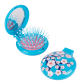 2 in 1 hairbrush and mirror - Lady Retro Pompon