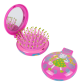 2 in 1 hairbrush and mirror - Lady Retro Petite Anglaise