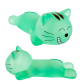 Relax - Wrist rest Turquoise cat