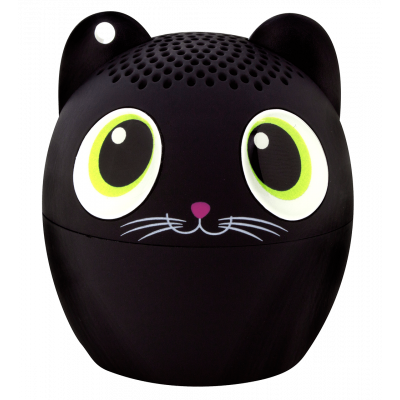 Mini enceinte bluetooth - Sing song - Chat noir