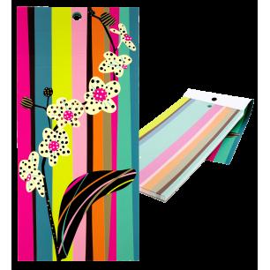 Bloc note magnétique - Carnet Formalist - Orchid
