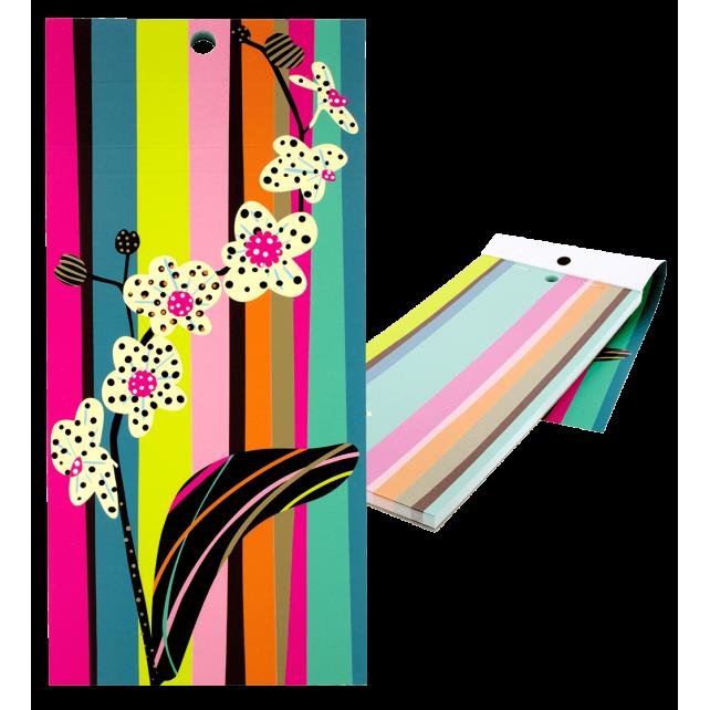 Bloc note magnétique - Carnet Formalist Orchid