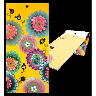 Magnetischer Notizblock - Heft Formalist - Dahlia