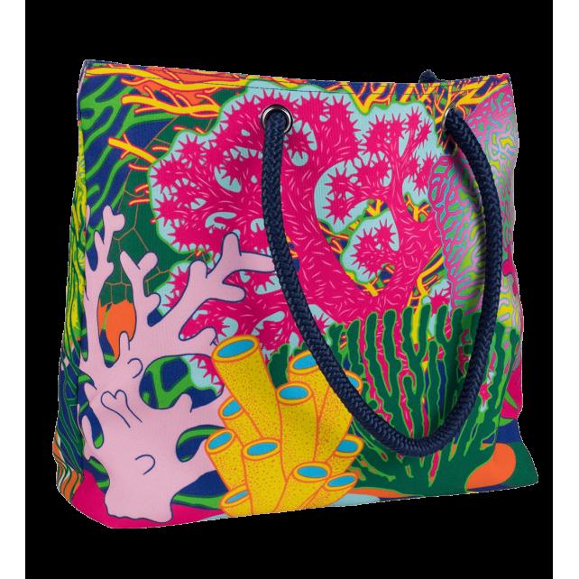 Coral Rainbow – Beach bag