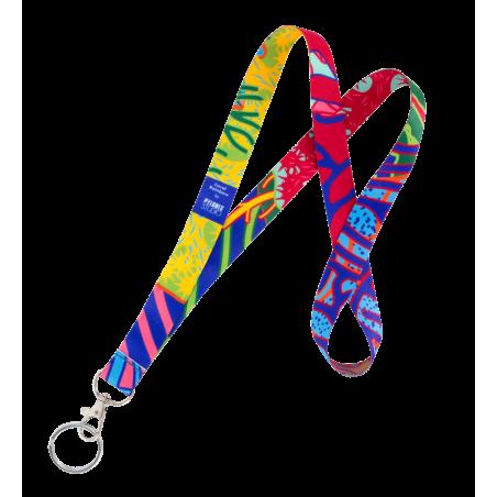 Coral Rainbow - Schlüsselband