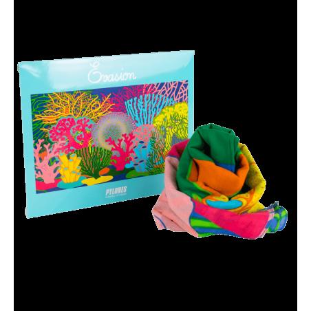 Coral Rainbow - Sarong