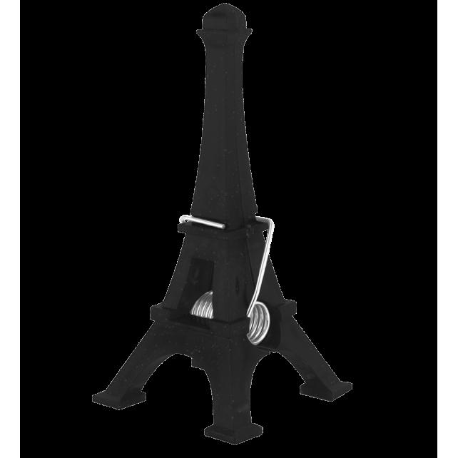 porte photo pince j 39 en pince pour paris noir pylones. Black Bedroom Furniture Sets. Home Design Ideas