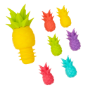 Pineapple - Glass markers and stopper