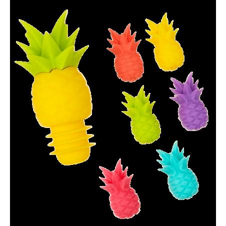 Pineapple - Marqueurs de verre et bouchon