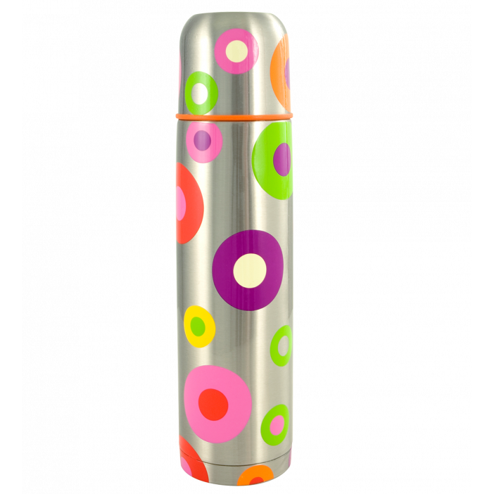 Keep Cool - Bouteille isotherme Silver Spots
