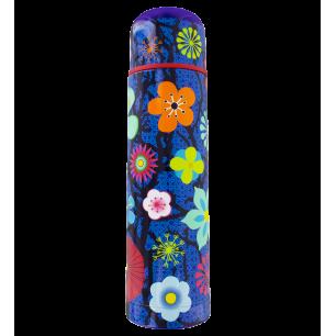 Borraccia termica - Keep Cool - Blue Flower