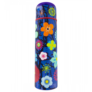 Thermal flask - Keep Cool - Blue Flower