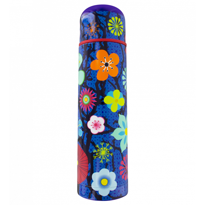 Keep Cool - Bouteille isotherme Blue Flower