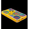 Batteria portatile 5000mAh - Get The Power 2 Blue Flower